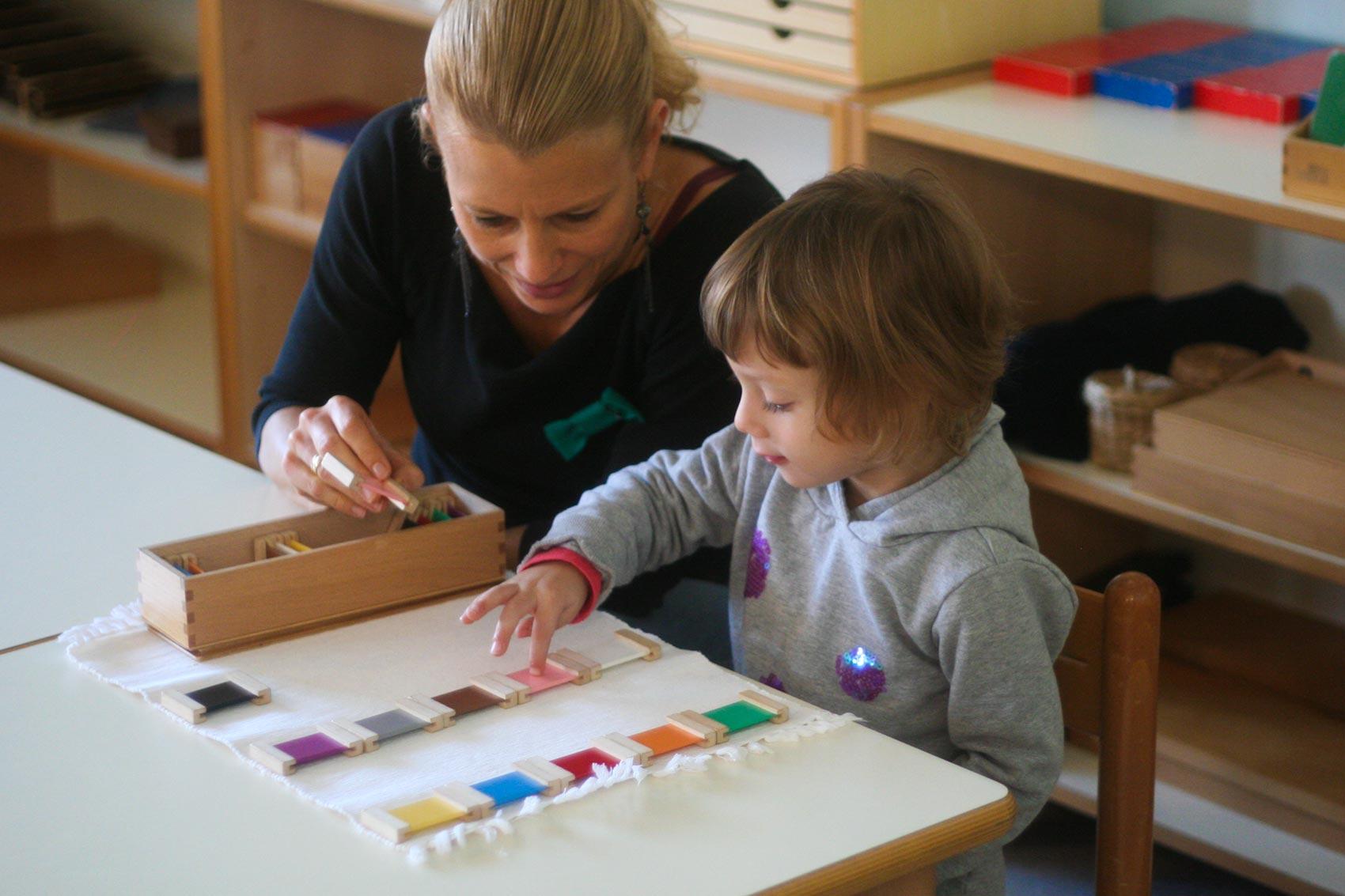 a true montessori classroom