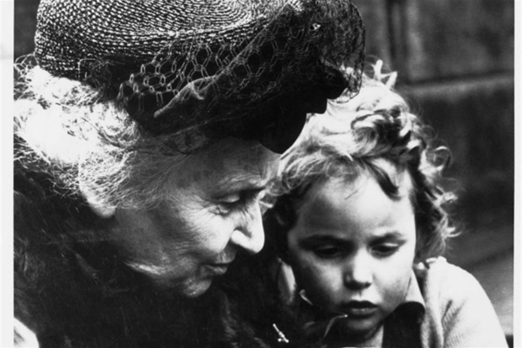 Il plauso dei papi a Maria Montessori